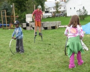 Old Fashioned Children's Games @ Children's Games Area