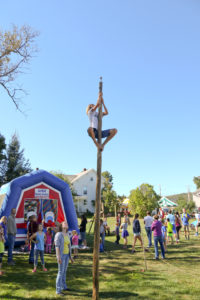 Greased Pole Climb @ Children's Games Area