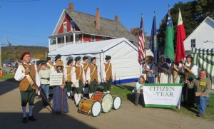 Hannaford's Fife and Drum Corps @ Music tent in front of the United Church of Underhill