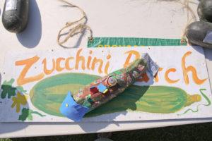 Zucchini Contests - Longest, Heaviest, Best Decorated @ Children's Games area